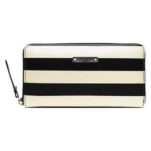 NEW Kate spade neda penn valley wallet, striped